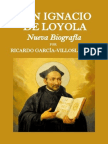 San Ignacio de Loyola, Nueva Biografía