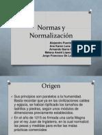 Normas y Normalización