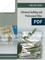 Adcanced Auditing and Professional Ethics Vol. 1