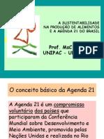 AGENDA 21-(Aula de gestão Ambiental na UNIPAC)