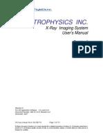 XIS User Manual RevA2 20080109 U0L