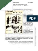 COMENTARIO CRÍTICO RESUELTO (Fragmento El crimen fue en Granada) (LCYL. 2º Bach)
