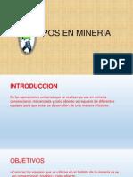 Equipos en Mineria