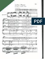 Dal Tuo Stellato Soglio Vocal Score