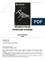Murakami Haruki-Kurblimadár krónikája (első könyv) 79c6aa6ecf