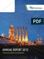 Annual Report 2012 AES Dominicana