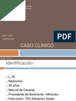 Caso clinico LM 36 años
