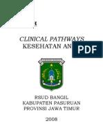 36. Clinical Pathways Kesehatan Anak RSUD Bangil Pasuruan Jawa Timur