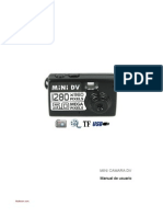 Mini Camara HD Manual Uso