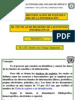 Registro de Fuentes