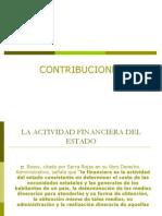 La Actividad Financiera Del Estado