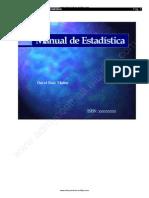Ruiz Muñoz David - Manual De Estadistica