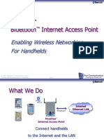 PicoBlue - Enabling Wireless Networking for Handhelds