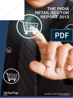 In Retail Sector Report 2013