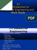 3.i Work Study