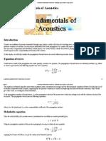 Acoustics_Fundamentals