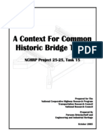 Context for Historic Bridge Types