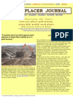 WPJ3 2 Cutting Costs in Placer Gold Mining