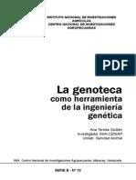 La genoteca como herramienta de la biotecnología