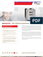 DCP 100 Direct Card Printer