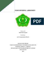 Anatomi Dinding Abdomen