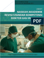 18.2 Draft Na Revisi Standar Kompetensi Dokter Gigi 2011