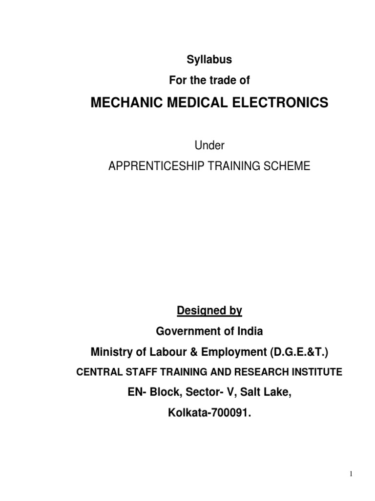 Mechanic Medical Electronics | Diode | Vacuum Tube