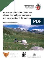 Merkblatt F Wildes Campieren Und Biwakieren