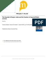 MRIDU rai reviews DIRKS book on empires