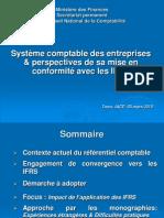 SCE et perspectives de sa mise en conformité avec les IFRS.ppt