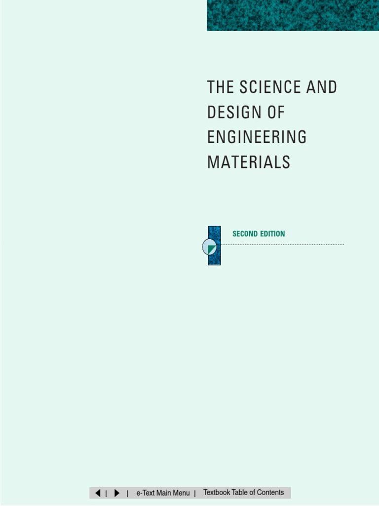 Science and design of engineering materials 2nd edition 1pdf science and design of engineering materials 2nd edition 1pdf crystal structure crystal fandeluxe Gallery