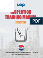 UOP Inspection Training Manual Volume 1