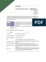 KeyboardShortcutsforSelection,Moving,andFormulas