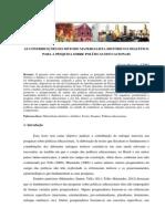 Contribuições do método para as pesquisas em políticas educacionais