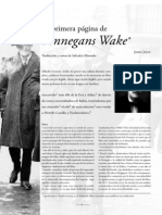 Traduccción primera página del Finnegans
