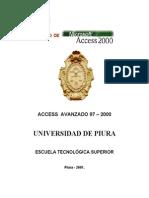 Access Avanzado Variado