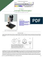 Microscopio Stereoscopico Riprogettato
