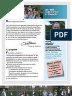 Programme 2008 de La Ferté aujourd'hui et demain
