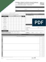 Reporte de evaluación secundaria 2