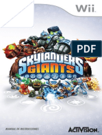 Skylanders Giants Online Manuals Wii Online Manual SP v3
