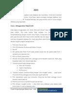 Koneksi Database Menggunakan Ado Pada Visual Basic 6 0 (1)