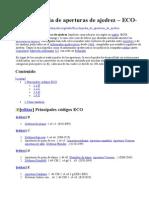 Enciclopedia de Aperturas de Ajedrez-ECO