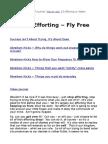 Stop Efforting ~ Fly Free
