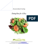 Eating Raw for a Day E-book