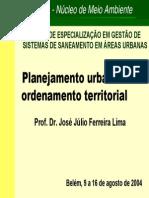 Planejamento Urbano e Ordenamento Territorial