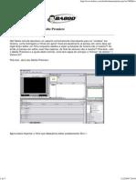 Editando um vídeo no Adobe Premiere