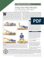 Exercicios Domiciliares de Quadril Para Pacientes