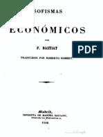 Frédérick Bastiat - Sofismas económicos