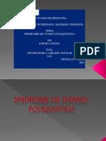 Sindrome de Ovario Poliquistico Cahydene
