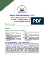 Estudio Biblico Santiago N3 7A